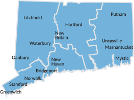 Visit CT Official Connecticut Office Of Tourism - Connecticut state map