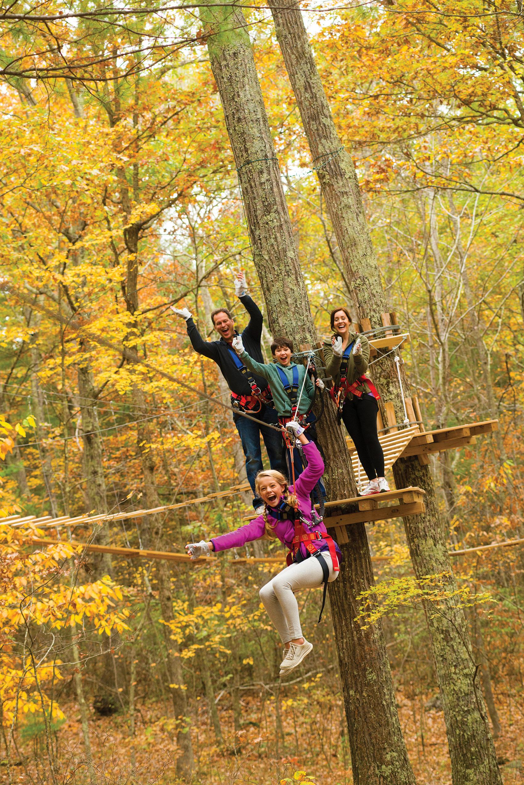 Adventure Park At Storrs Visit Ct