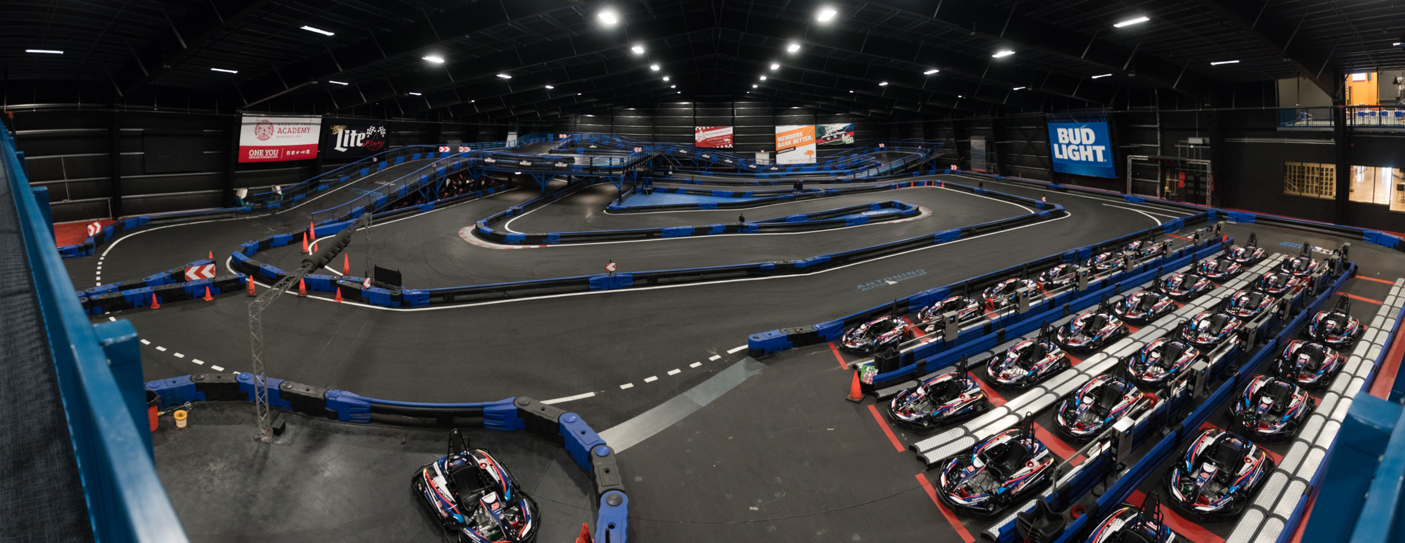 Supercharged Powered By Mohegan Sun Indoor Karting
