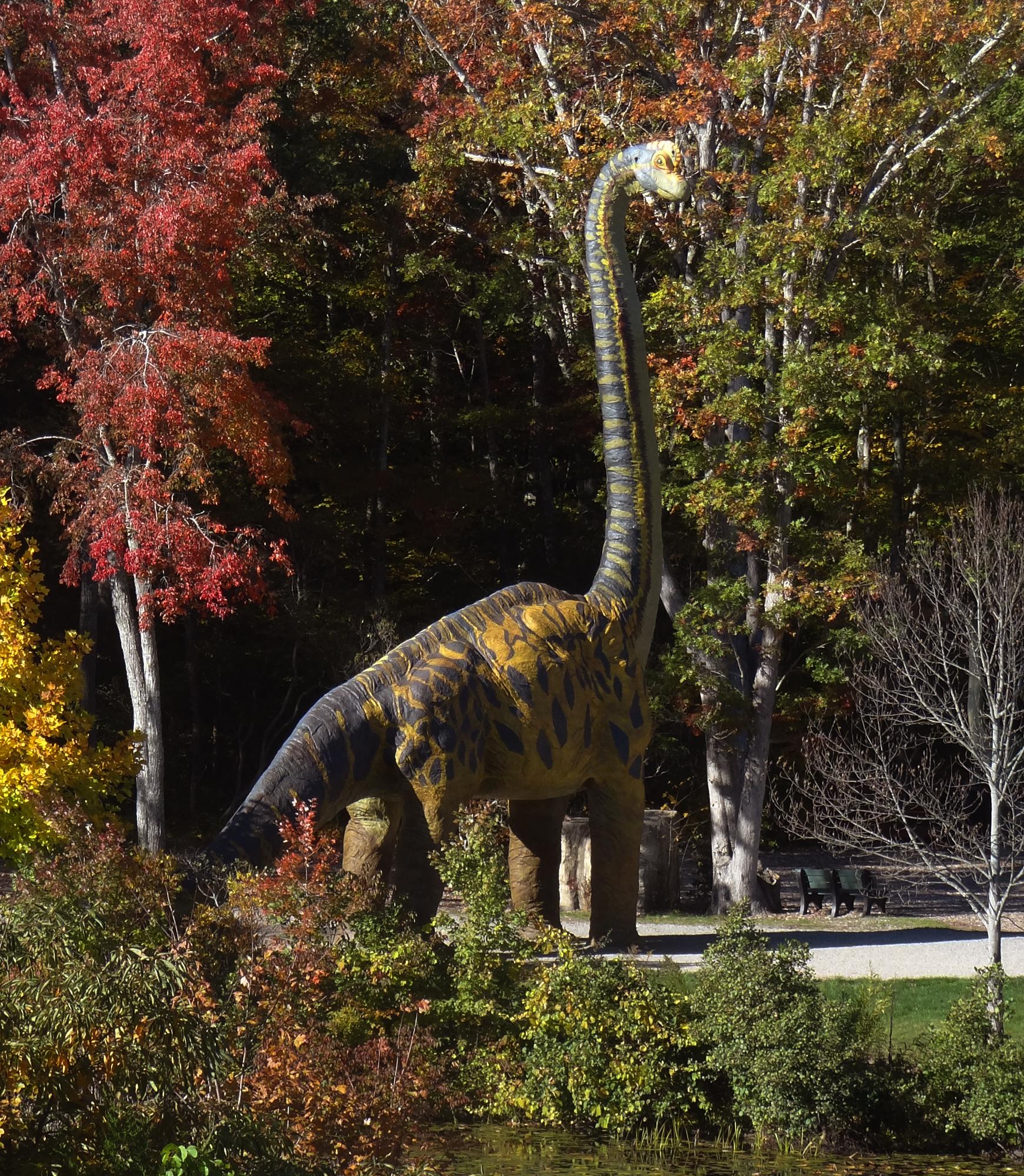 The Dinosaur Place At Nature S Art Village Visit Ct