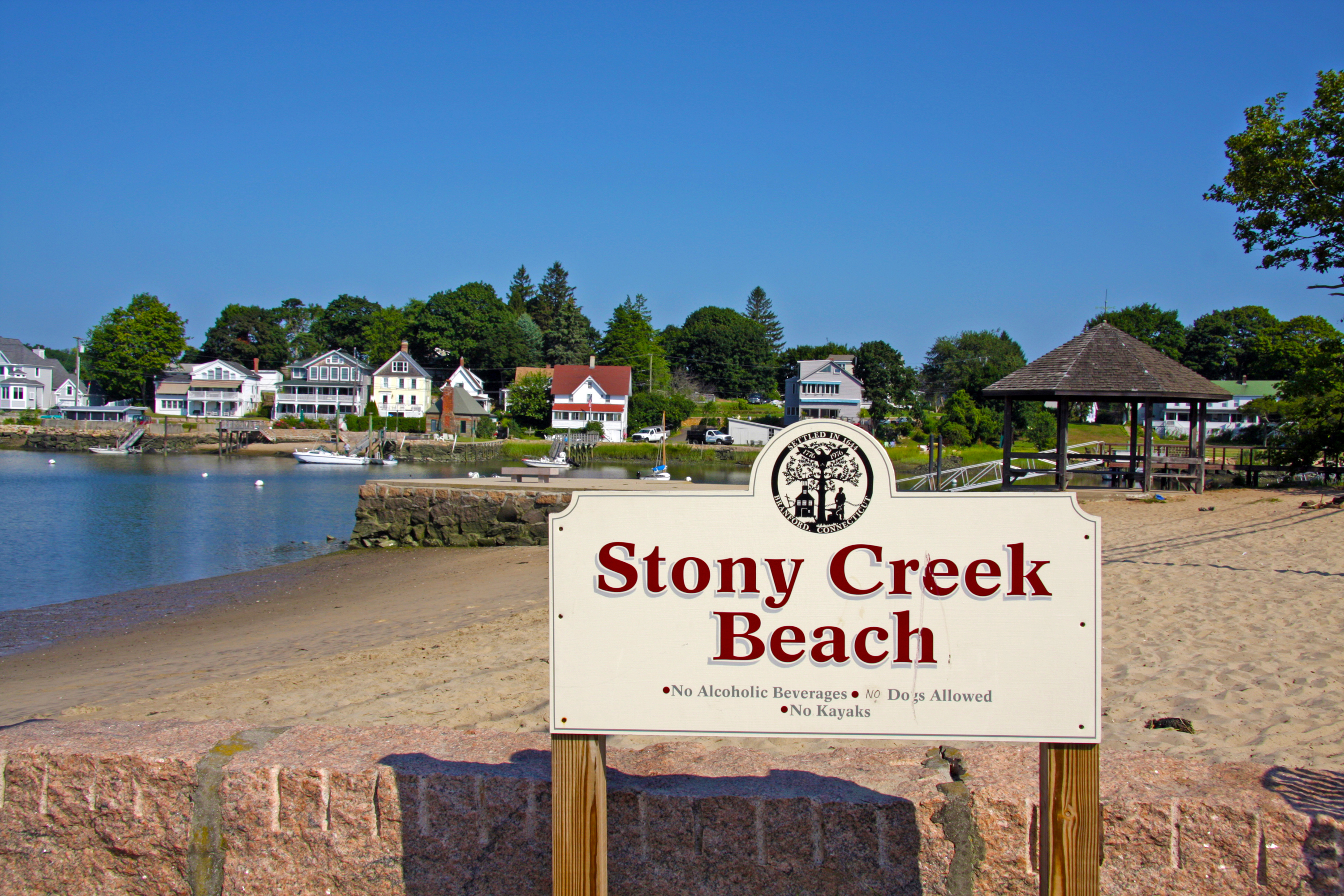 Stony Creek Beach Visit Ct