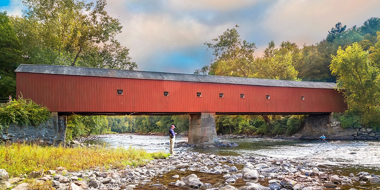 Crossing Covered Bridges Visit Ct