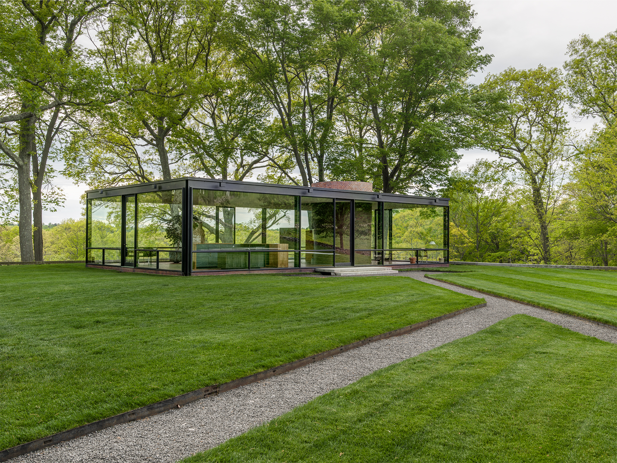 The Glass House Visit Ct