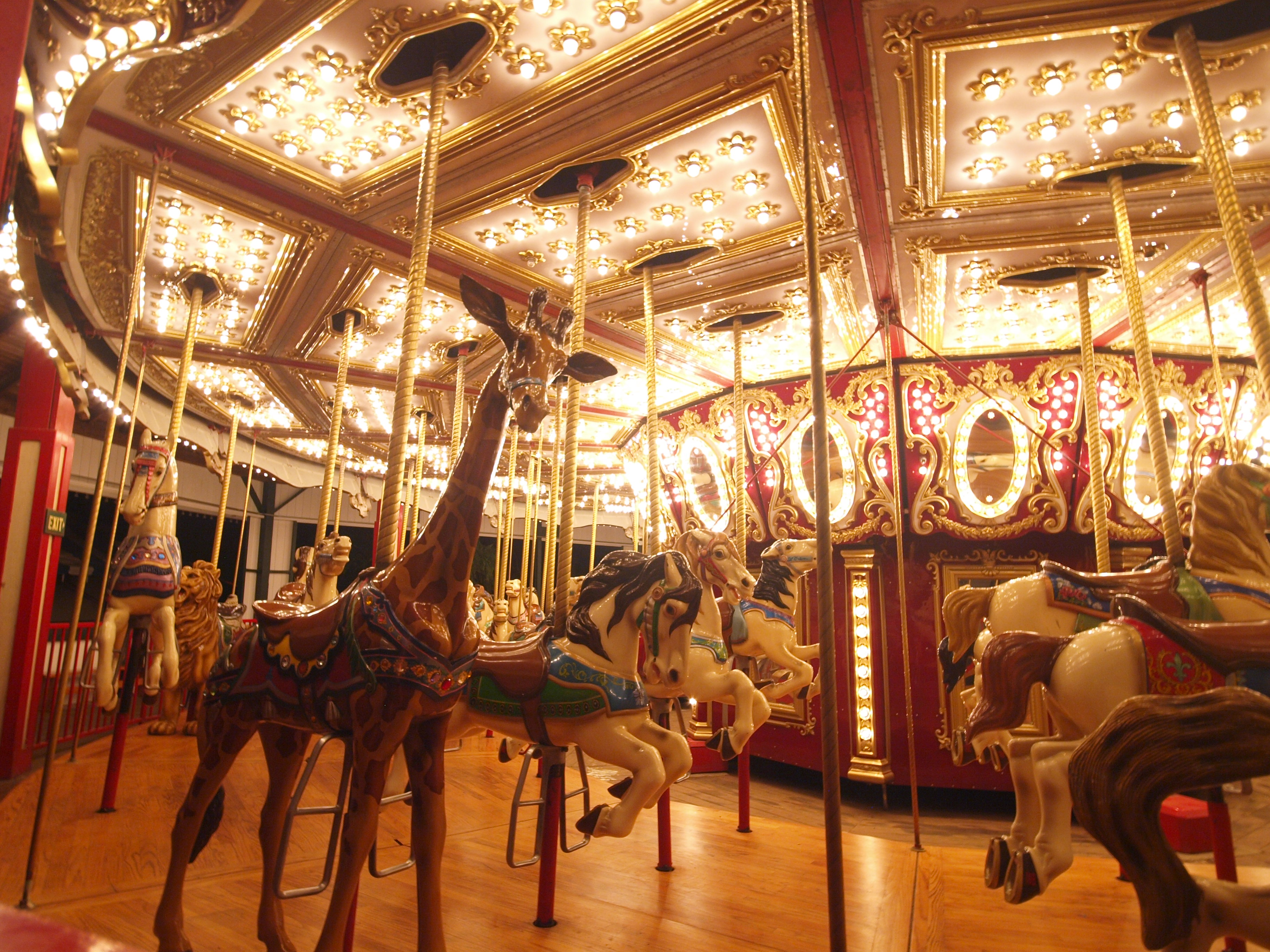 Bushnell Park Carousel Visit Ct