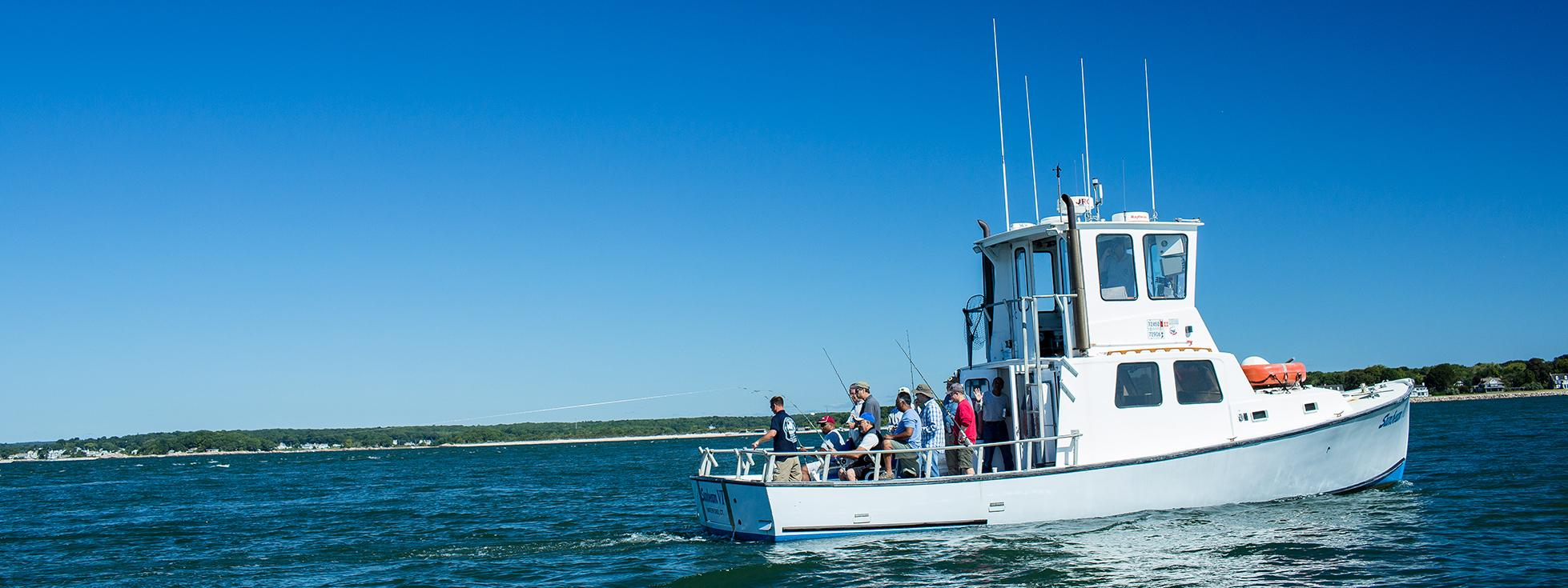 Boat rentals charters visit ct for Fishing trips in ct