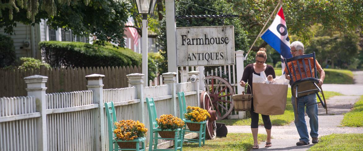 Woodbury Antiques Trail