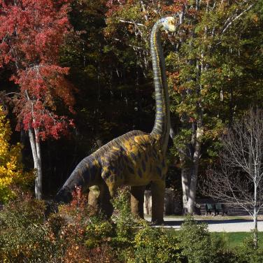 the dinosaur place at nature s art village visit ct