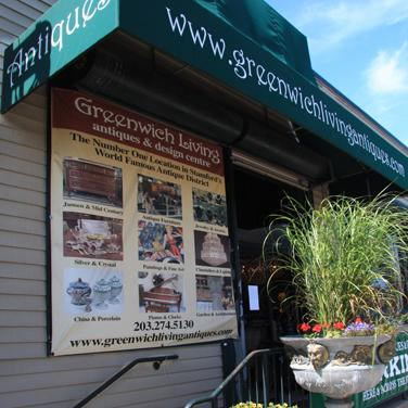 greenwich living antiques design center visit ct