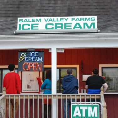 Salem Valley Farms Ice Cream Visit Ct